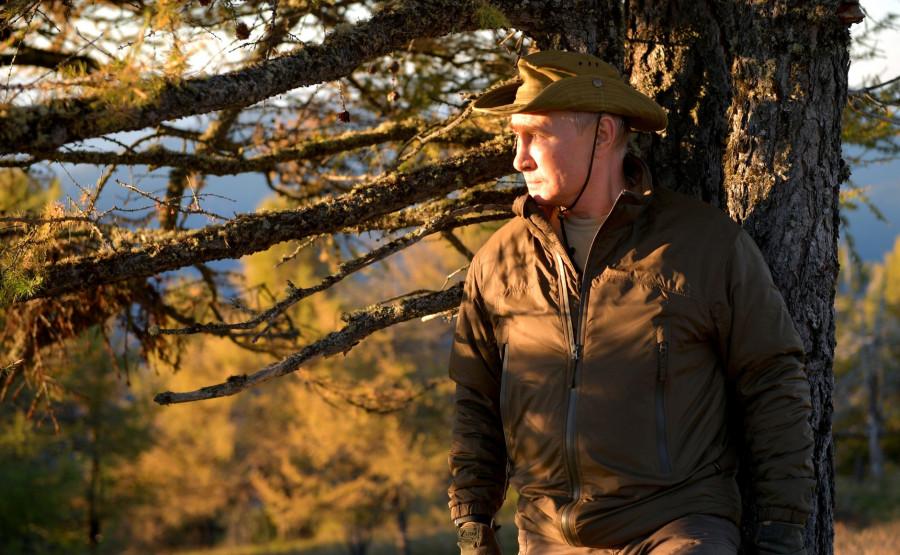 ForPost - Новости : «Похож на золотоискателя»: на Западе обсуждают отпускные фото Путина