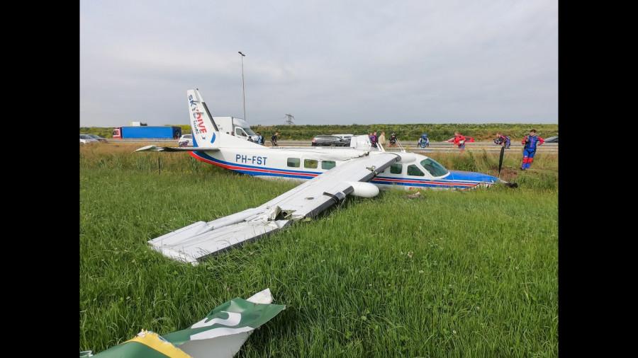ForPost - Новости : Пассажир снял на видео жёсткую посадку своего самолёта
