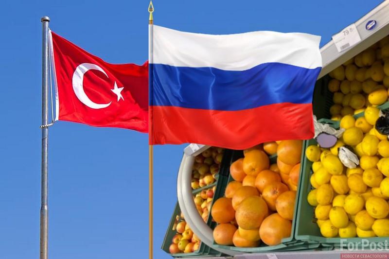 Мы не выстрелим себе в ногу: Россия выиграет от отсутствия турецких фруктов