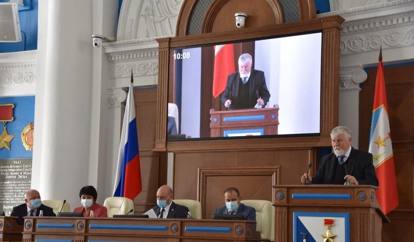 ForPost - Новости : В заксобрании Севастополя новый депутат и новый глава бюджетной комиссии