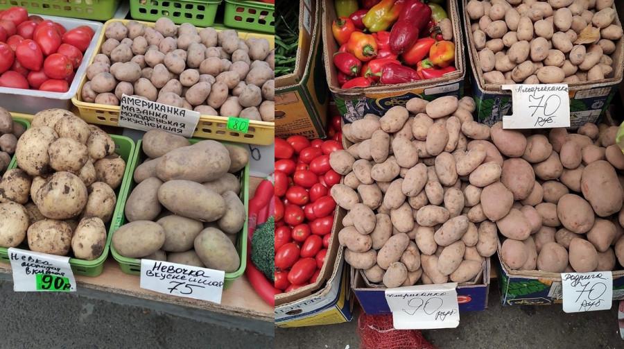 ForPost - Новости : В Севастополе резко подскочили цены на картофель
