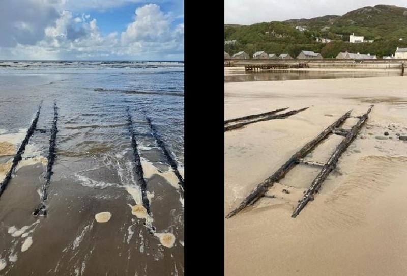 ForPost - Новости : В Сети спорят о найденной таинственной железной дороге, ведущей в море