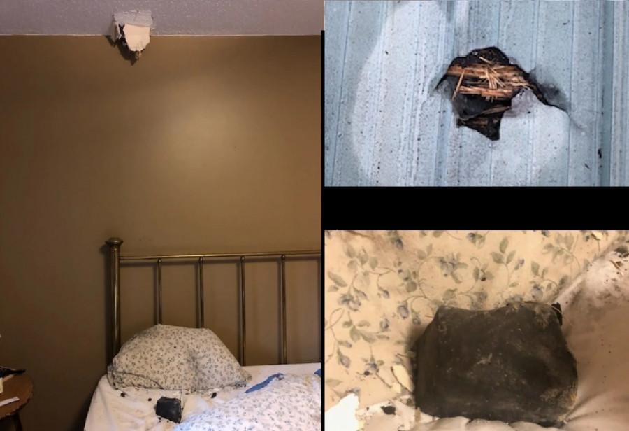 ForPost - Новости : В кровать женщины ночью рухнул метеорит
