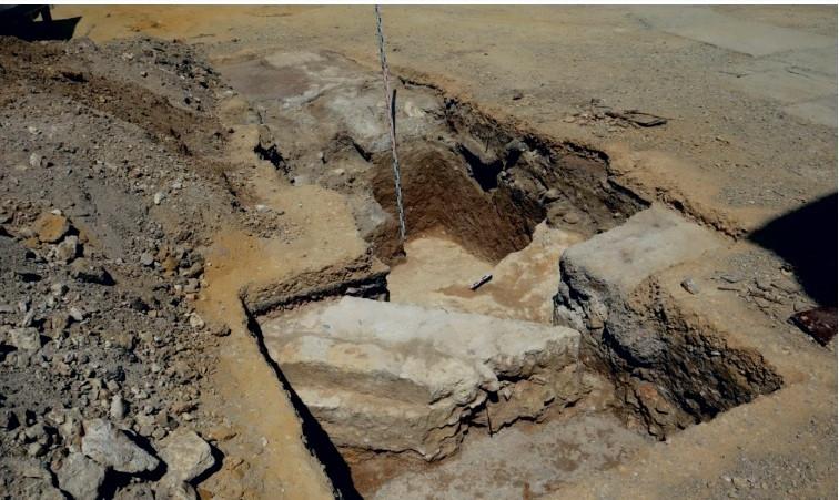ForPost - Новости: Фундамент последнего досоветского храма нашли в Севастополе на Хрустальном