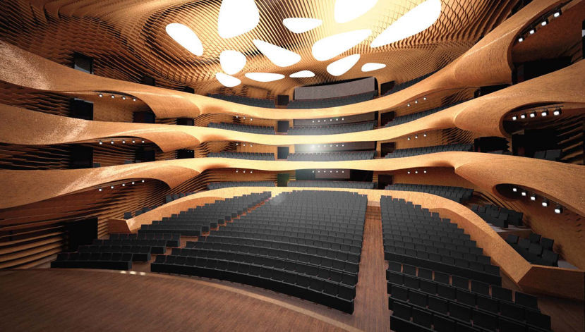 ForPost - Новости: Стеклянная чайка: каким будет оперный театр в Севастополе
