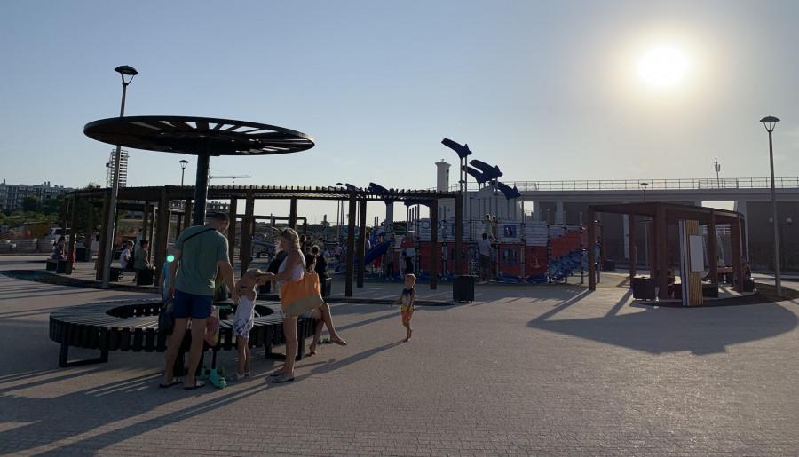 ForPost - Новости: Севастопольцам открыли продолжение набережной в парке Победы