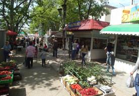ForPost - Новости : С ларьками на выход: в Севастополе зачищают сквер на Северной стороне