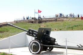 ForPost - Новости : На мемориальном комплексе «35-я Береговая батарея» состоялась торжественная церемония завершения строительства