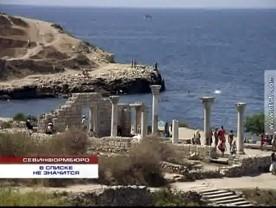 ForPost - Новости : Херсонес стремится попасть в список всемирного наследия ЮНЕСКО. Европейские эксперты требуют загнать купающихся севастопольцев на специальные платформы в море.