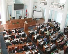 ForPost - Новости : Как депутаты Законодательного собрания Устав Севастополя принимали