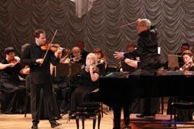 ForPost - Новости : В Севастополе в рамках акции «Время высокой музыки» выступил скрипач Дмитрий Коган