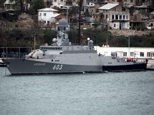 """ForPost - Новости : Новейшие ракетные корабли, вооруженные """"Калибром"""", прибыли в Севастополь"""