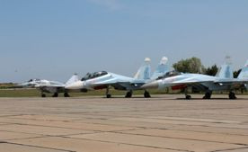 ForPost - Новости : Боевые самолёты подняты в воздух с аэродрома Бельбек: работают ракетами и бомбами