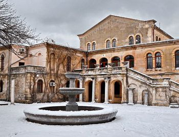 ForPost - Новости : Восстановленный фонтан в «Херсонесе Таврическом» ждёт весны