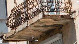 ForPost - Новости : Дом с аварийным балконом над коммунистами Севастополя потерялся в бумагах