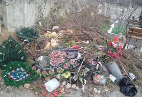 ForPost - Новости : На севастопольском кладбище устроили свалку у детских могил