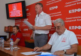 ForPost - Новости : На выборы губернатора Севастополя отправили обречённого коммуниста