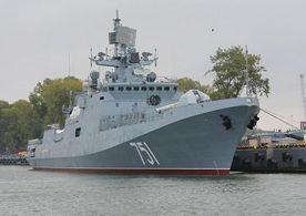 ForPost - Новости : В Севастополь прибыл новейший фрегат «Адмирал Эссен»