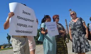 ForPost - Новости : Севастопольских борцов за землю не поддержали их лидеры