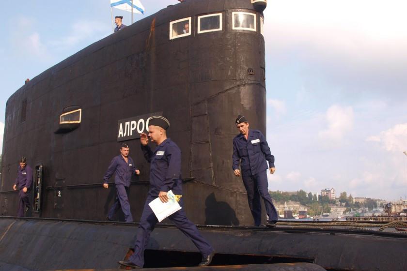 можно подводная лодка алроса в херсонесе фото собрать себе