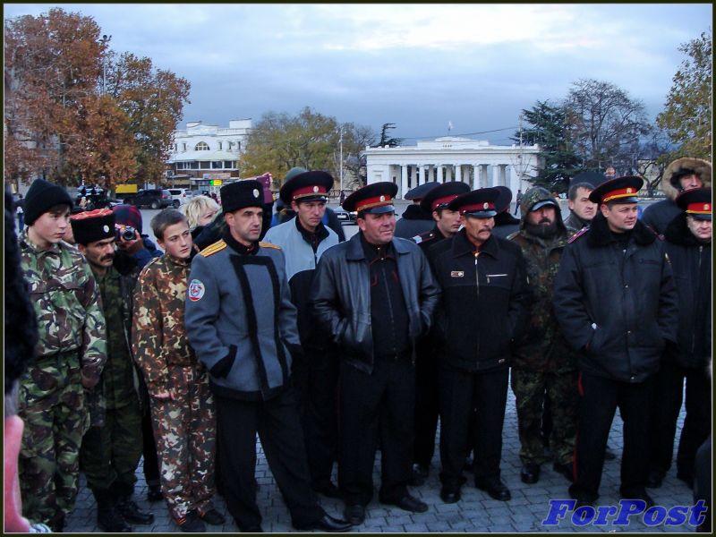 ForPost - Новости: Более 1000 жителей города-героя на антиевропейском митинге в Севастополе потребовали от украинских властей присоединения к Таможенному союзу