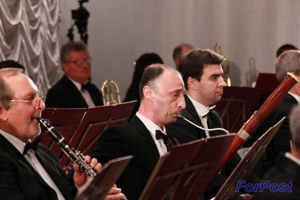 ForPost - Новости: В Севастополе вновь зазвучала классическая музыка в исполнении Академического симфонического оркестра И. Каждана