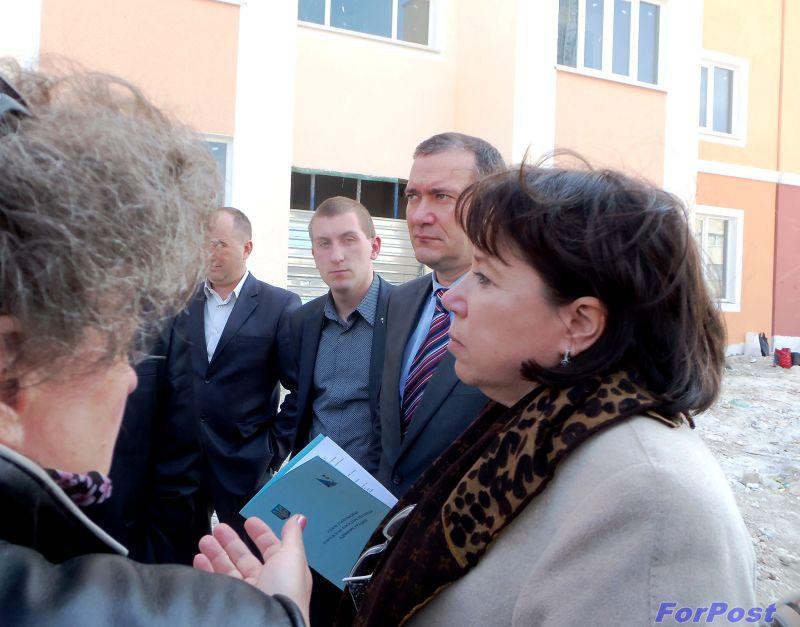 Ход строительства жилья в микрорайонах Гагаринского района