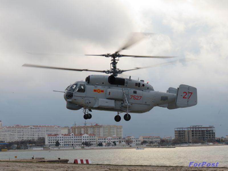 ForPost - Новости: В Севастополе завершается ремонт вертолетов для вооруженных сил Вьетнама