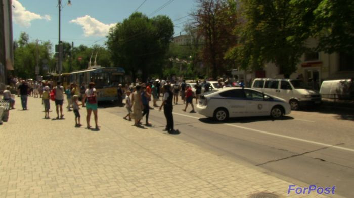ForPost - Новости: Центр Севастополя перекрыт: поступило сообщение о том, что заминировано законодательное собрание