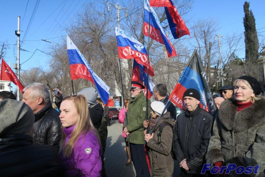 ForPost - Новости: Севастополь поддержал Донбасс митингом и сбором подписей