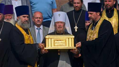 Встреча ковчега с десницей Андрея Первозванного в Севастополе