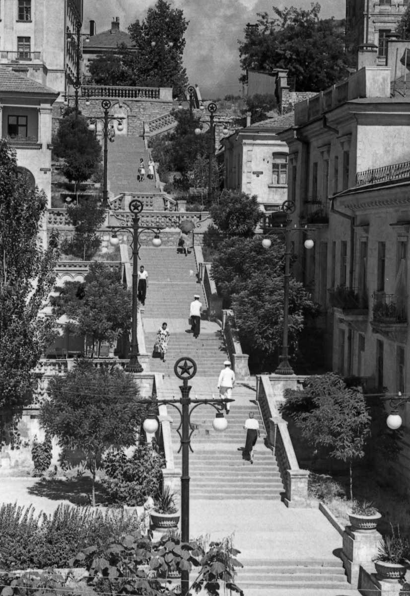 Таврическую лестницу в Севастополе восстановят в прежнем виде