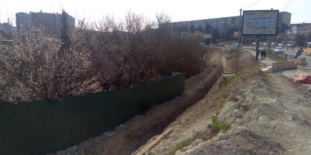 Мост через балку на Гагарина в Севастополе откроют через два месяца