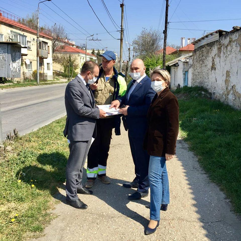 Лишившуюся деревьев улицу в Севастополе обещают озеленить