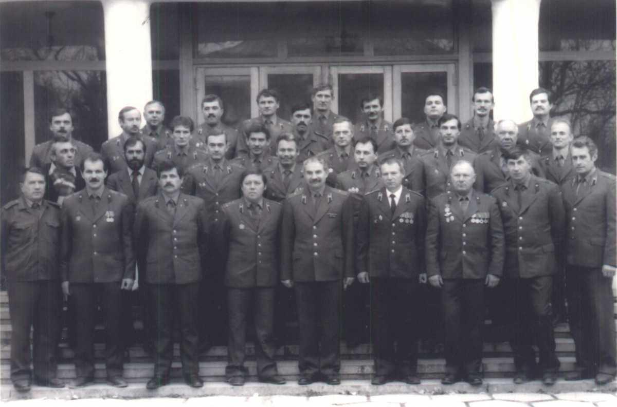 Севастопольские пожарные участвовали в ликвидации последствий аварии на ЧАЭС