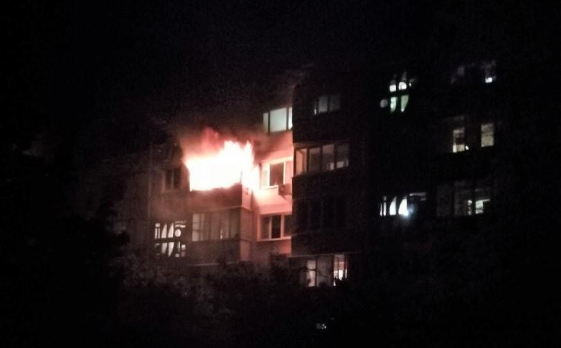 В Севастополе сгорела квартира в пятиэтажке