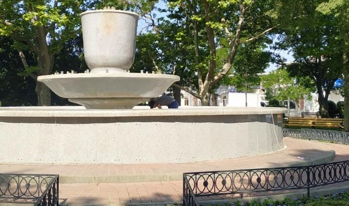 Когда заработают фонтаны в Севастополе