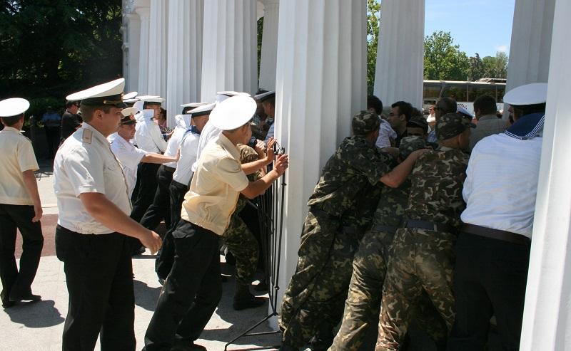 Севастополь оборона графской пристани