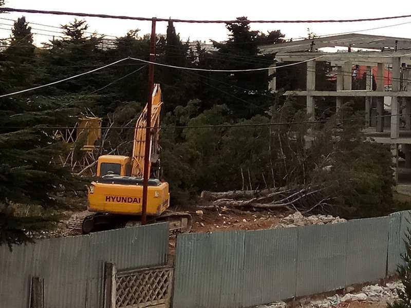 Севастополь Казачья бухта застройка сквер парк вырубка