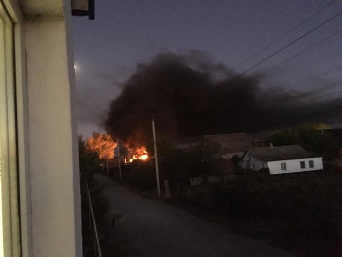 На юго-западе Крыма прогремели взрывы