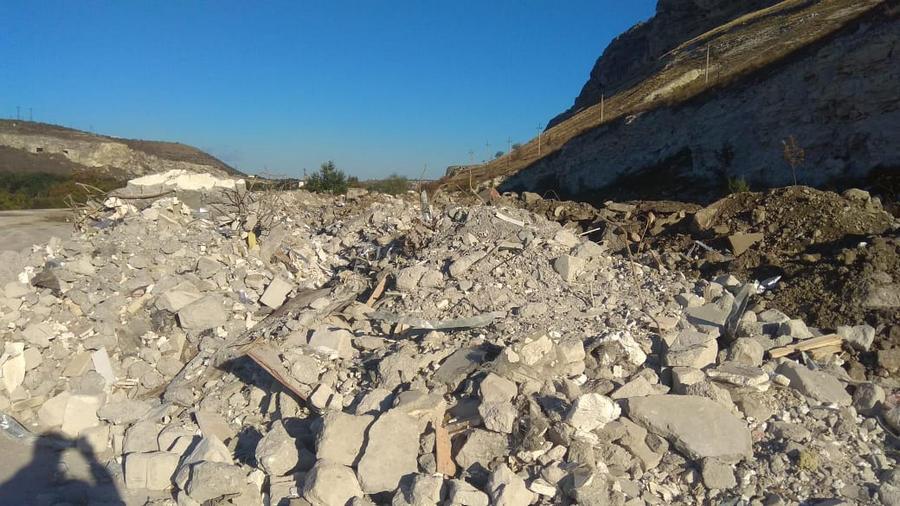 В Севастополе усиливают контроль за сбросом строительного мусора