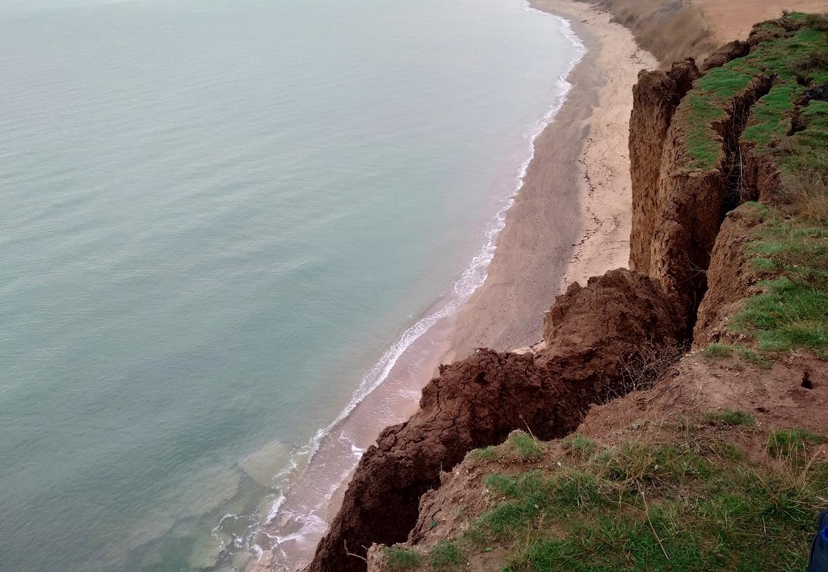 Севастополь пляж обвалы