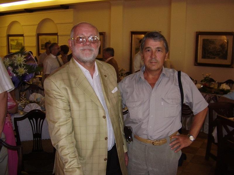 С бывшим директором МГИ академиком Ивановым в день его 70-летия