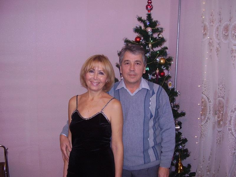 С любимой женой в канун 2008 года