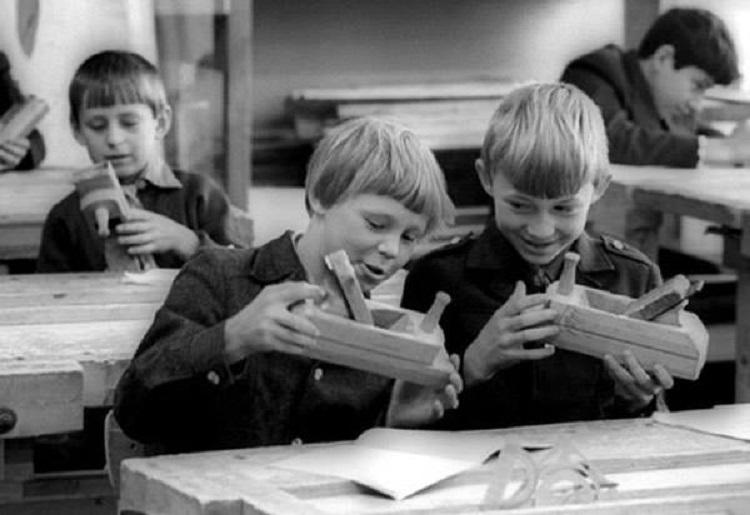 Евпаторийские школьники начала 60-х